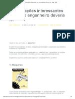 6 Publicações Interessantes Que Todo Engenheiro Deveria Ler - Blog - AWA