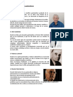 15 Los Principales Científicos Guatemaltecos