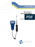 TSI Alnor VelociCalc 9515 Manual