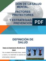 diapositivas sobre Salud Mental