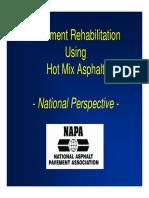 Pavement Rehab Using Hma