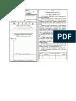 Formulare Pentru Prescrierea Medicamentelor
