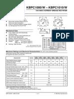 datasheet KBPC 1010