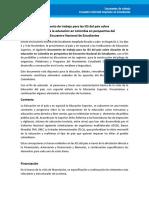 Documento de Trabajo Mesa Programatica - Eda