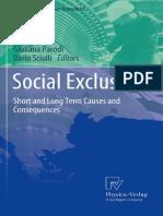 (AIEL Series in Labour Economics) Giuliana Parodi, Dario Sciulli (Auth.), Giuliana Parodi, Dario Sciulli (Eds.)-Social Exclusi