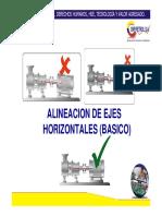 Alineacion ejes horizontales