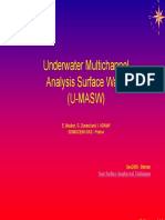 Under Water MASW