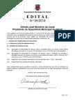 Ordem de Trabalhos e documentação - 1ª Sessão Ordinária 2018 (19/02/2018)