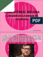 Luis Benshimol - CUAUHTÉMOC MEDINA, curador de la Bienal de Shanghai
