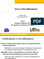 Aula 06 - Codificadores e Decodificadores