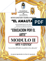 Educacion Por El Arte- Modulo II