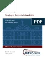 Pima County Community College District June 30, 2017 Single Audit
