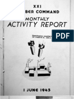 XXI Bomber Command Monthly Activity Reports, June 1945