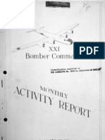 XXI Bomber Command Monthly Activity Reports, May 1945