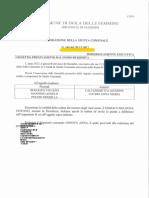 2107 30 DICEMBRE GIUNTA 164 ASSENTE CALTANISETTA PRELEVAMENTO DAL FONDO RISERVA