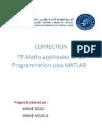 Corr Matlab