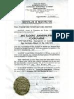 CDA Registered