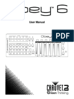 Obey 6 - User Manual