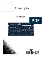 Obey 4 - User Manual
