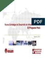 Dr_ Sergio Bravo - Nueva Estrategia de Desarrollo de Infraestructura Vial, Proyecto Perú