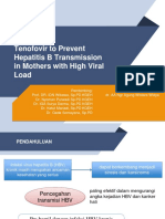 Tenofovir to Prevent Hepatitis B Transmission in Mothers With High Viral Load