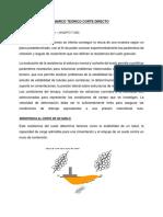 Mt Corte Directo - Norma Triaxial (1)