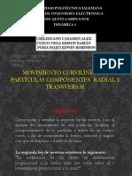 Movimiento Curvilíneo-componentes Radial y Transversal