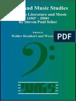 Scher_Paul_ Essays on Literature and Music, 1967-2004. Ed. Bernhart&Wolf-Rodopi (2004)