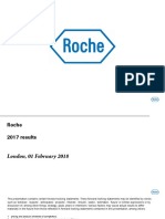 Roche Earnings Presentation February 2018