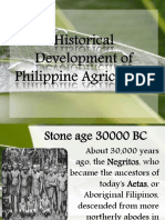 History of Philippine Agriculture