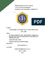 Ingeniería y Control de La Contaminación Del Aire