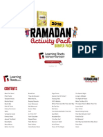 Ramadan Activity Pack 2016 Bumper