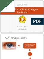 Hipermetropia Disertai Dengan Presbiopia
