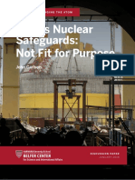 India's Nuclear Safeguards - Not Fit for Purpose