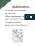 MORFOLOGIA Cusco y Ocongate