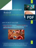 Micro Swimmer Robot