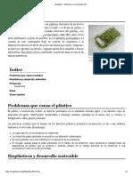 Bioplástico - Wikipedia, La Enciclopedia Libre