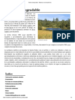 Plástico Biodegradable - Wikipedia, La Enciclopedia Libre