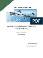 Autopiloto Para Reabastecimiento en Vuelo de Uavs