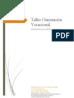 Taller Orientación Vocacional
