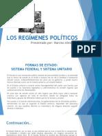 Los Regímenes Políticos