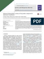 1 Enhanced Photocatalytic Activity of TiO2-Zeolite Composite for Abatement of Pollutants (Zeolita Natural)