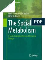 The Social Metabolism 2014, Víctor Manuel Toledo