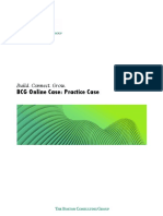 BCG Online Practice Case