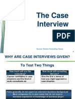 BCG Case Interview