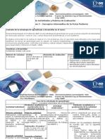 Guia de Actividades y Rubrica de Evaluación - Fase 3 - Conceptos Intermedios de La Física Moderna