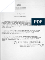 Library of Congress LeMay Papers Guide