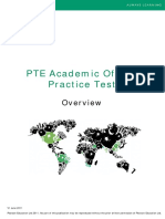 Overview PTE Practice Test