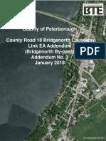 Bridgenorth Bypass Environmental Assessment Addendum 3 Report