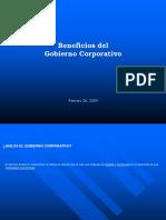 Beneficios Del Gobierno Corporativo
